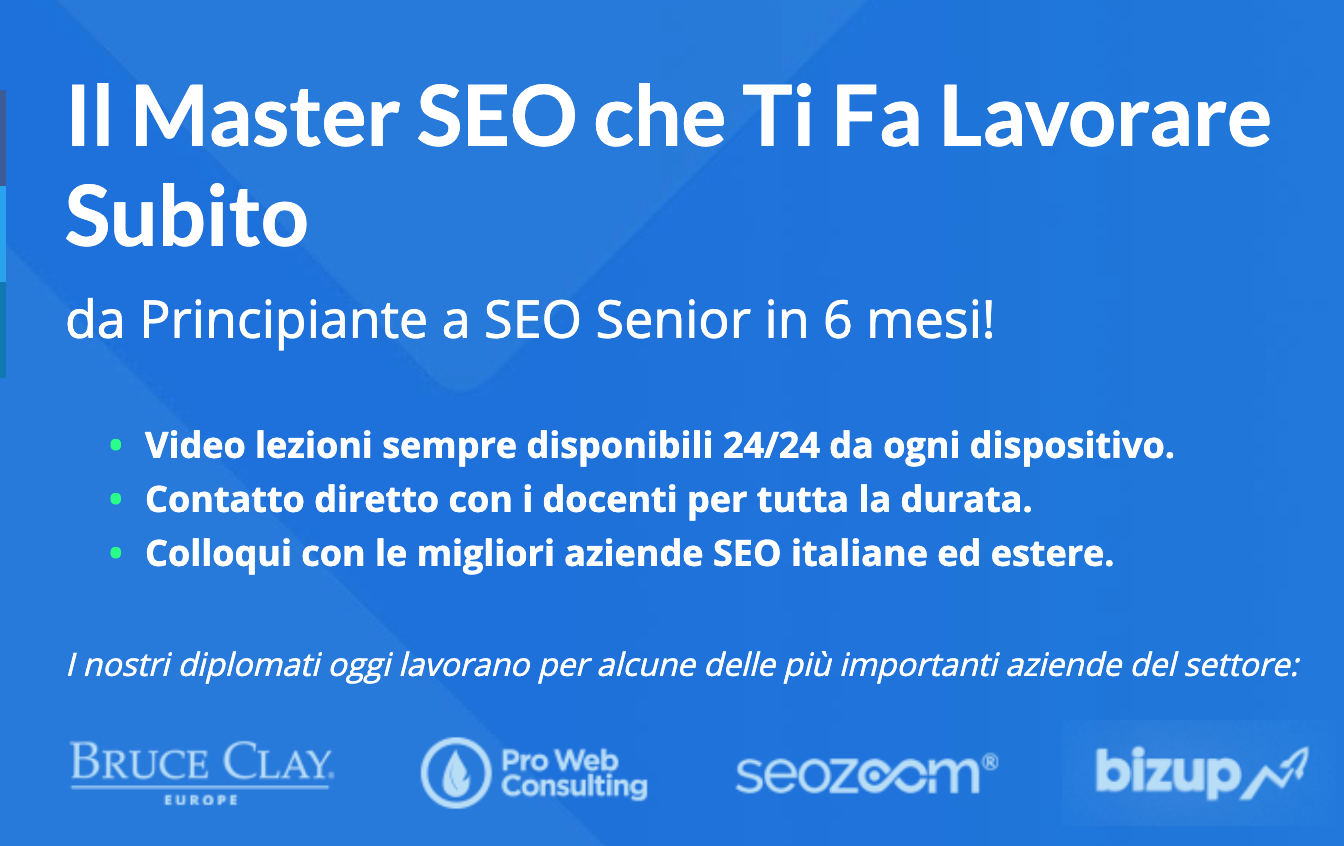 master seo training